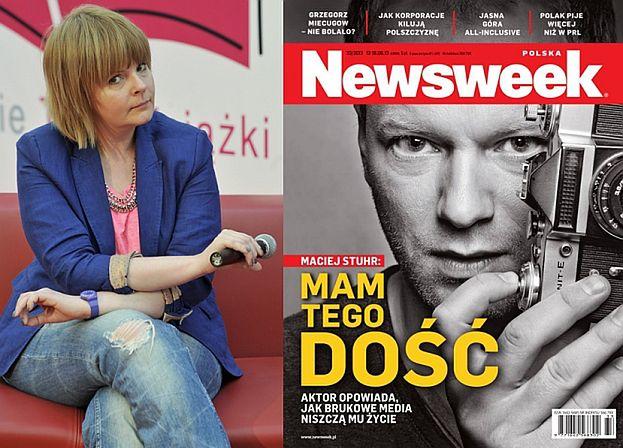 """Korwin-Piotrowska krytykuje Stuhra: """"WYWIAD NIE TRZYMA SIĘ KUPY!"""""""