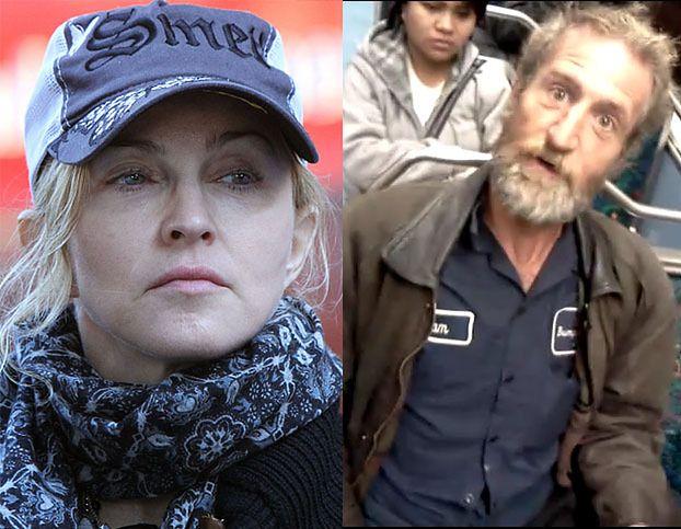 ZŁAPALI psychofana Madonny!