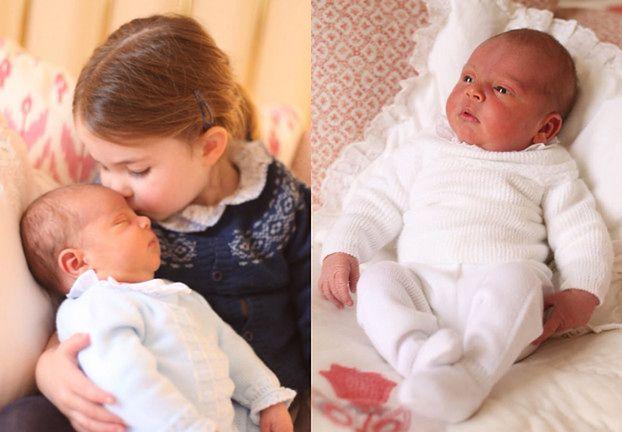 Rodzina królewska POKAZAŁA ZDJĘCIA księcia Louisa