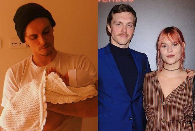 Malwina Buss urodziła! Aktorka i Tomasz Włosok pochwalili się w sieci zdjęciem dziecka (FOTO)