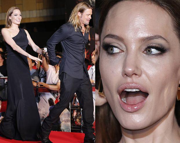 Piękna Angelina z Bradem w Tokio! (ZDJĘCIA)