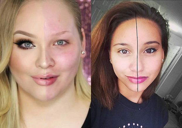"""Internautki pokazują """"Potęgę Makijażu"""" (ZDJĘCIA)"""