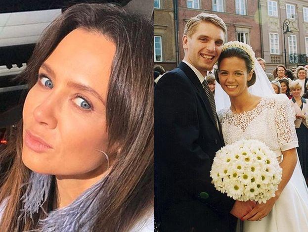"""Kinga Rusin wspomina ślub z Tomaszem Lisem: """"Materiał pokazywali w """"Wiadomościach"""""""""""