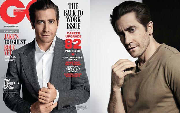 """37-letni Jake Gyllenhaal pozuje dla australijskiego """"GQ"""""""