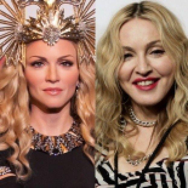 Woskowa figura Madonny... PO LIFTINGU?