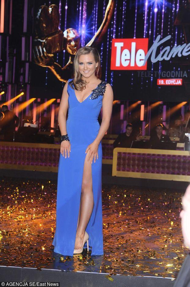 Agnieszka Kaczorowska pokazała nogi na Telekamerach (ZDJĘCIA)