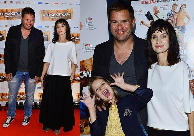 Rodzinka.pl: Tomek z Violą i córką na ściance