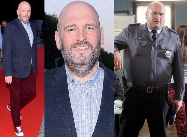 """Policjant z """"Ojca Mateusza"""" schudł 30 kilogramów!"""