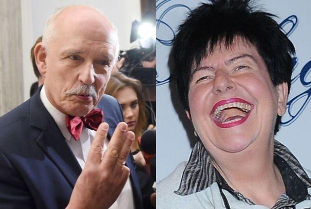 """Joanna Senyszyn dogryza na wizji Januszowi Korwin-Mikkemu: """"Wieloryb by pana NIE CHCIAŁ"""""""