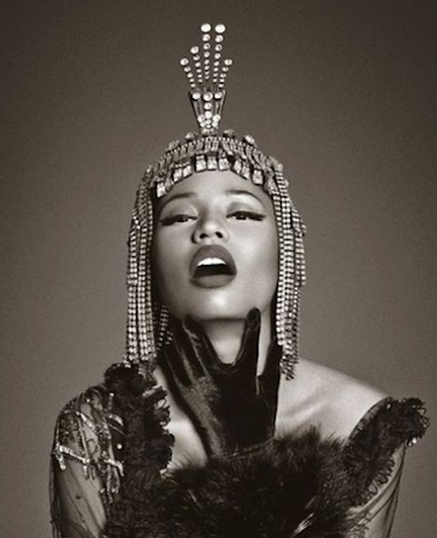 Nicki Minaj wystylizowana na Kleopatrę!