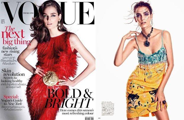 """Zuzanna Bijoch w TAJLANDZKIM """"Vogue'u""""!"""