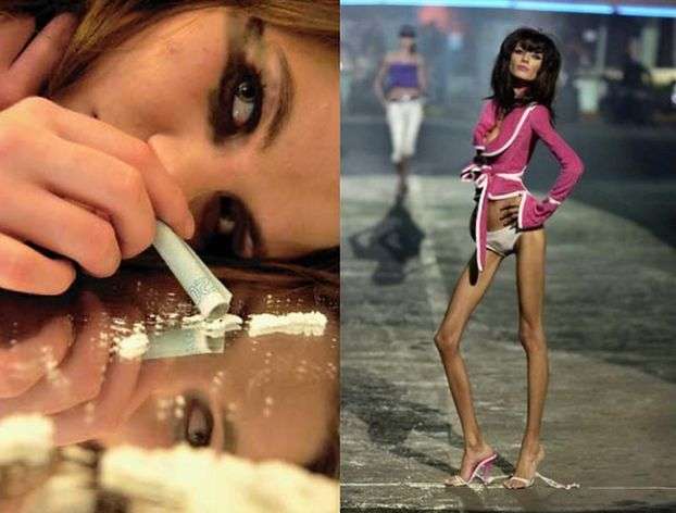 """""""Modelki biorą kokainę, żeby nie czuć głodu!"""""""