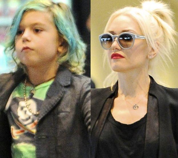 Syn Gwen Stefani przefarbował włosy!