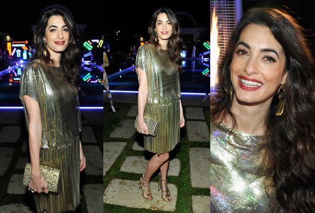 Amal Clooney pozuje 4 miesiące po porodzie