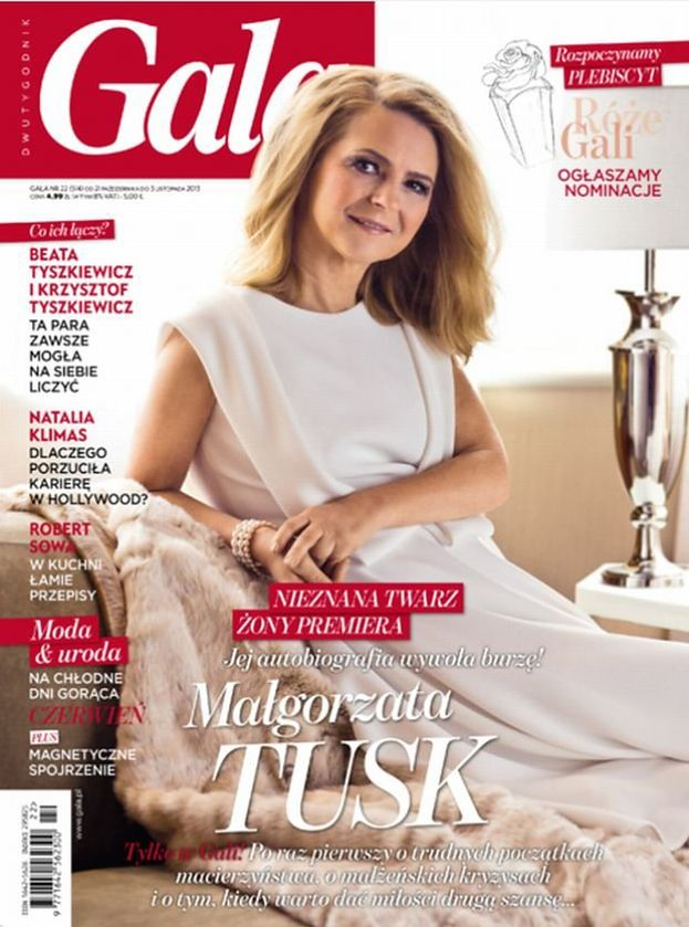 "Żona Tuska na okładce ""Gali""! (FOTO)"