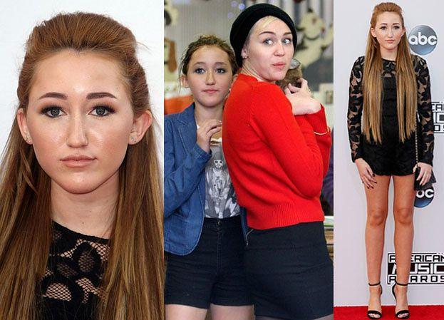 14-letnia siostra Miley Cyrus znowu na ściance! WYŁADNIAŁA?