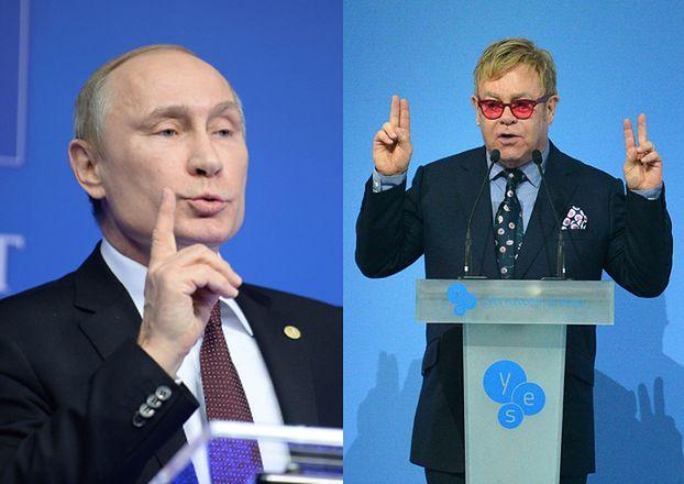 Elton John padł ofiarą żartu! Myślał, że zadzwonił do niego... Putin!