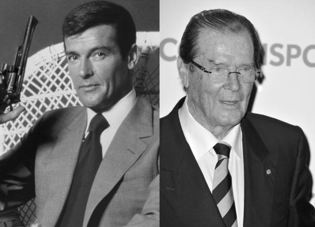 Nie żyje Roger Moore, siedmiokrotny James Bond
