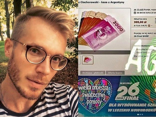 """Ciachorowski zdradził, że wygrał """"Agenta""""? Oddał na licytację WOŚP pieniądze z programu!"""