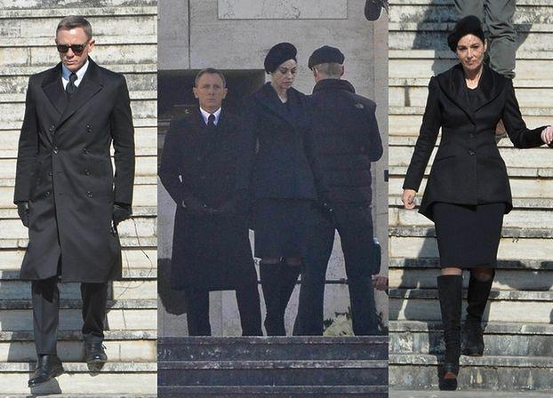 Bellucci i Craig na planie nowego Bonda! (ZDJĘCIA)