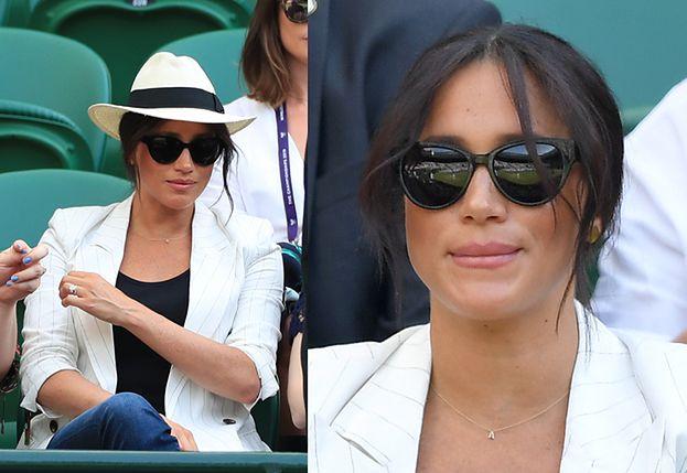 Meghan Markle wywołała skandal na Wimbledonie - złamała dress code i nasyłała ochroniarzy na fotografów