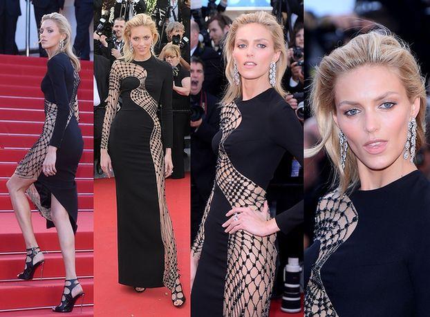 Anja Rubik na czerwonym dywanie w Cannes (ZDJĘCIA)