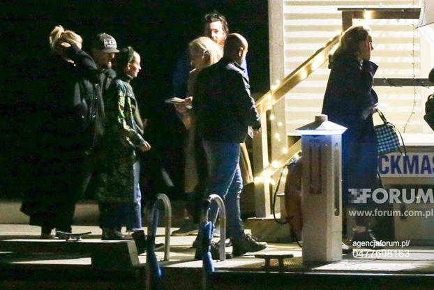 Największe gwiazdy show biznesu ściągają pod osłoną nocy na ślub Jennifer Lawrence: Adele, Cameron Diaz, Kris Jenner (FOTO)