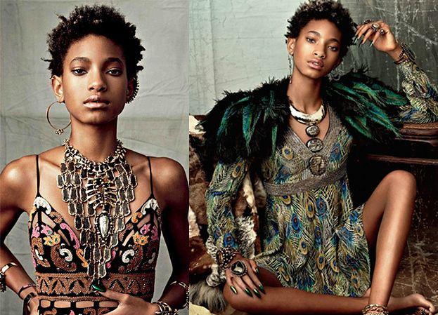 14-letnia Willow Smith została modelką! (ZDJĘCIA)