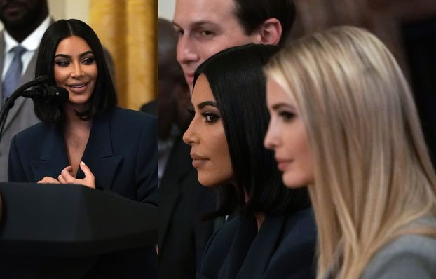 """Kim Kardashian przemawia w Białym Domu: """"Pragnę podziękować prezydentowi za wsparcie"""" (FOTO)"""