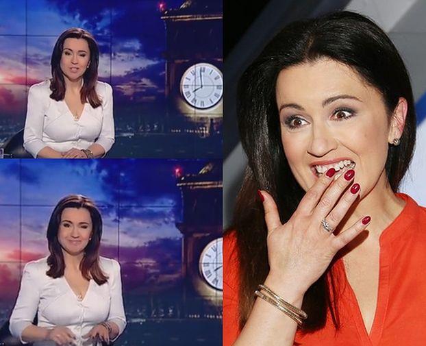 """Tadla komentuje plotki o zwolnieniu na antenie """"Wiadomości"""": """"Do zobaczenia w niedzielę, mam nadzieję"""""""
