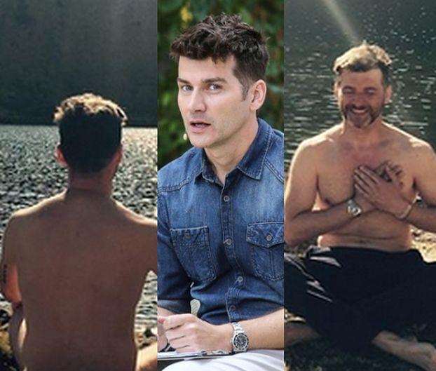 Tomasz Kammel medytuje nago na Instagramie (FOTO)