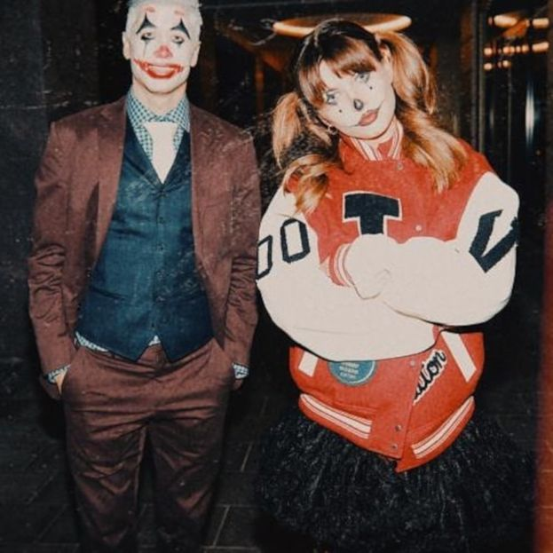 Anna i Robert Lewandowscy świętują Halloween. Przebrali się za Jokera i Harley Quinn!