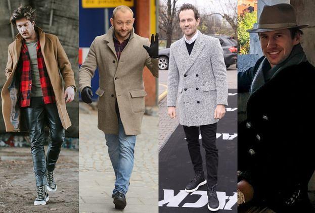 Stylowe płaszcze męskie w stylizacjach celebrytów