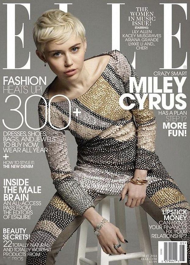 "Miley ""JAK NAĆPANA"" w ""Elle""!"