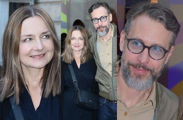 Szymon Majewski z żoną na premierze w teatrze Jandy (ZDJĘCIA)