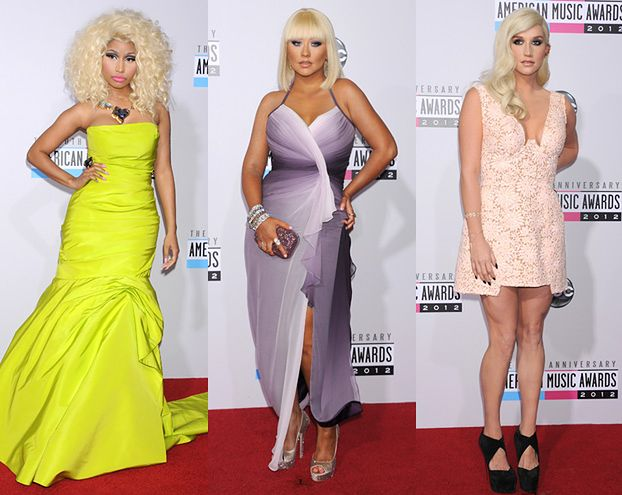 Kolorowo na American Music Awards! (FOTO)