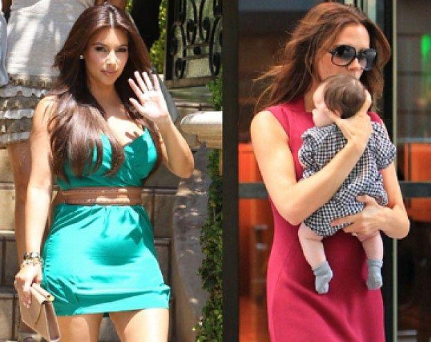 """Kim inspiruje się Victorią Beckham!"""