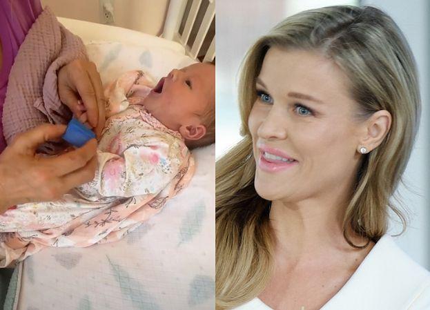 """Joanna Krupa zachwyca się córką. """"Asha-Leigh, masz robiony manicure? Ouuuu"""""""