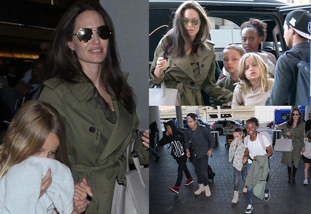 Angelina zabrała dzieci na wakacje tuż przed Dniem Ojca! (ZDJĘCIA)