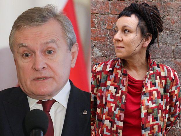 """Piotr Gliński: """"W związku z nagrodą Pani Tokarczuk zobowiązuję się powrócić do niedokończonych wcześniej lektur"""""""