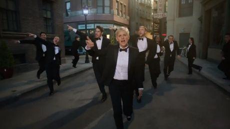 Ellen Degeneres reklamuje Oscary!