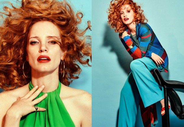 "Jessica Chastain na okładce ""The Edit"""