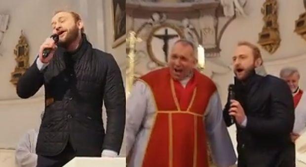 Borys Szyc śpiewa w kościele!