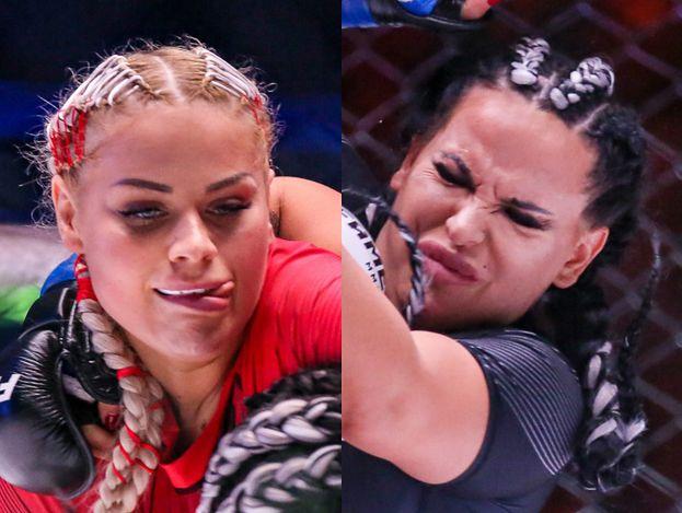 Fame MMA 5: Walka Esmerlady Godlewskiej z Eweloną zakończyła się NOKAUTEM w pierwszej rundzie!
