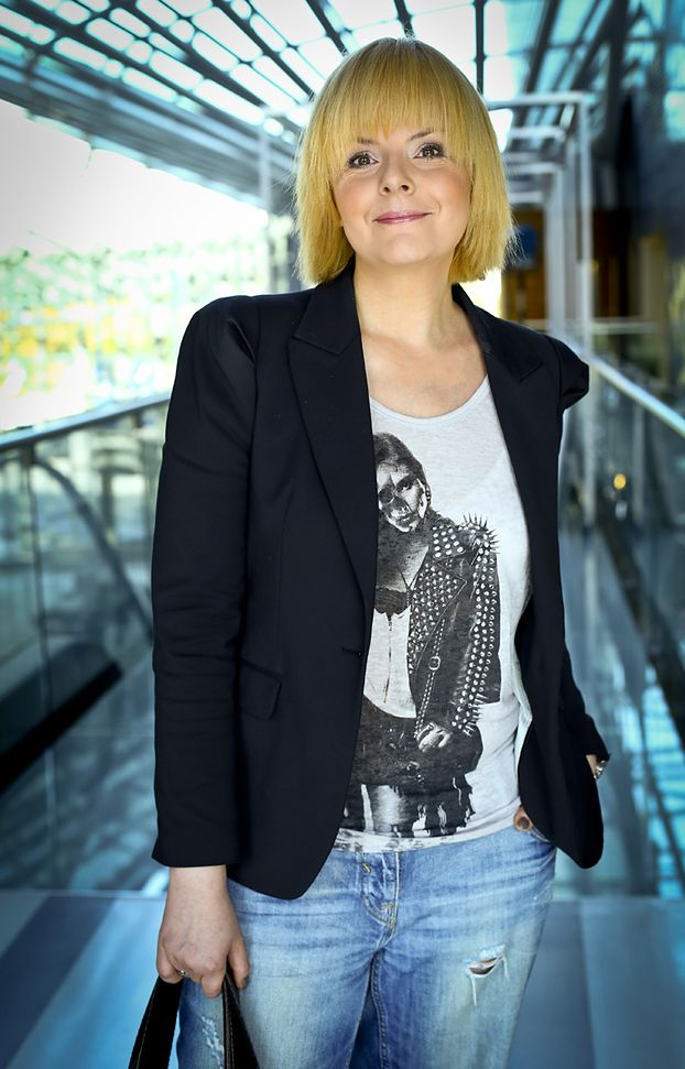 """Korwin-Piotrowska: """"Wracam do siebie, nie mogę leżeć i płakać"""""""