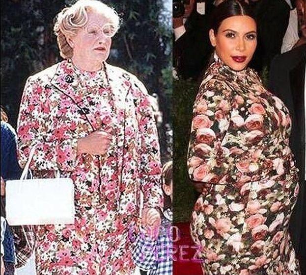 Kardashian vs. Pani Doubtfire!