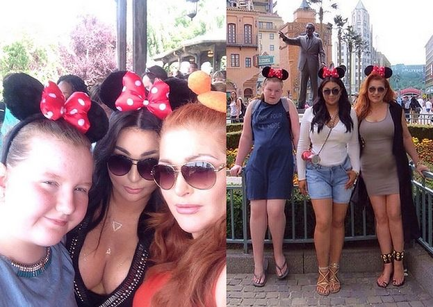Grycanki bawią się... w Disneylandzie! (FOTO)