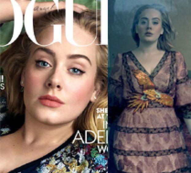 "Adele w sesji dla ""Vogue'a""!"