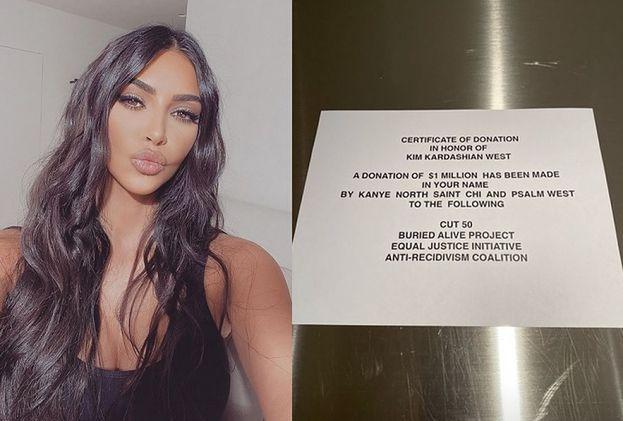 Hojny Kanye West podarował WIĘŹNIOM MILION DOLARÓW z okazji 39. urodzin Kim Kardashian!