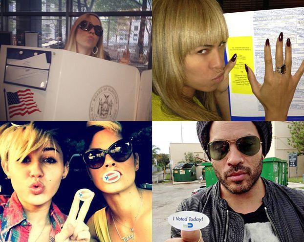 Gwiazdy głosują w wyborach! (ZDJĘCIA)
